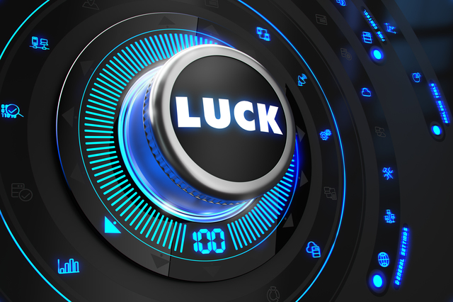 Luck Controller on Black Control Console.