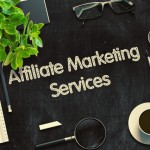 Affiliate Marketing Services Concept. 3D render.